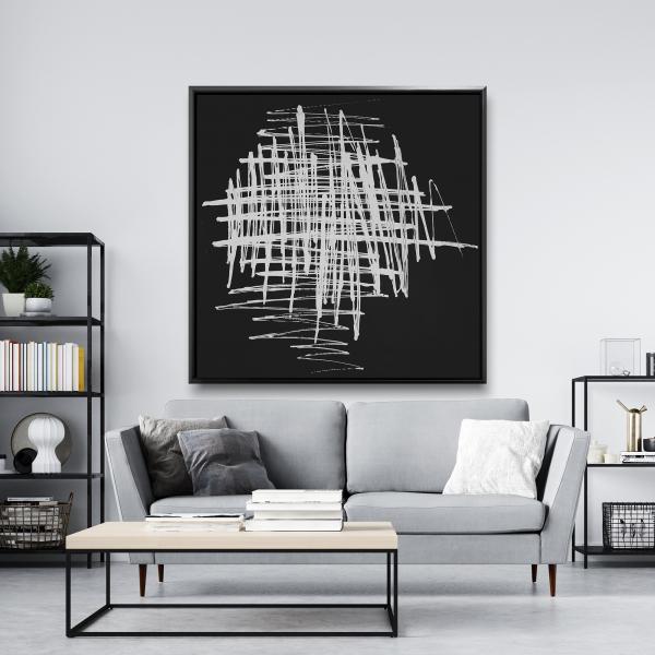 Framed 48 x 48 - Contrast