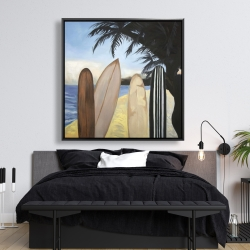 Framed 48 x 48 - Surfboards