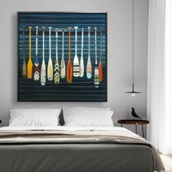 Framed 48 x 48 - Paddles