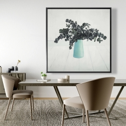 Framed 48 x 48 - Bouquet of eucalyptus