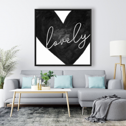 Framed 48 x 48 - Lovely