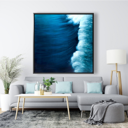 Framed 48 x 48 - Wave
