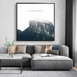 Framed 48 x 48 - Explore