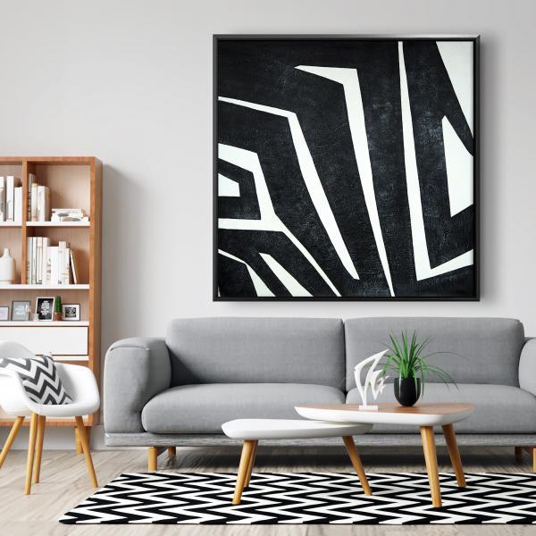 Framed 48 x 48 - Labyrinth