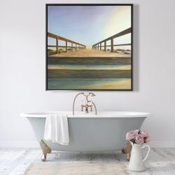 Framed 48 x 48 - Footbridge