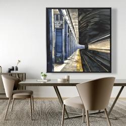 Framed 48 x 48 - New-york subway