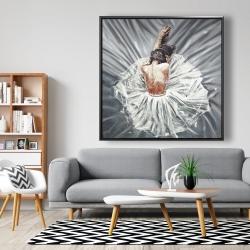 Framed 48 x 48 - Ballerina