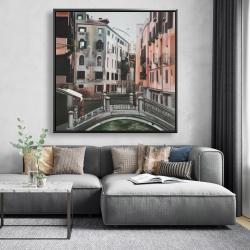 Framed 48 x 48 - Venice