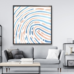 Framed 48 x 48 - Footprint