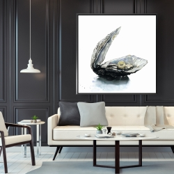 Framed 48 x 48 - Pearl oyster