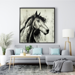 Framed 48 x 48 - Spirit horse