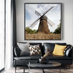Framed 48 x 48 - Windmill