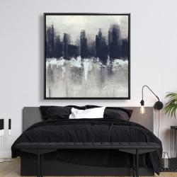 Framed 48 x 48 - Dark city