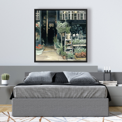 Framed 48 x 48 - Plants shop