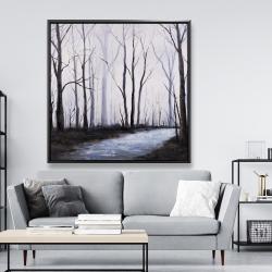 Framed 48 x 48 - Sad forest