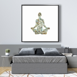 Framed 48 x 48 - Zen attitude