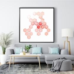 Framed 48 x 48 - Multiple alveoles