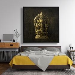 Framed 48 x 48 - Lord ganesha