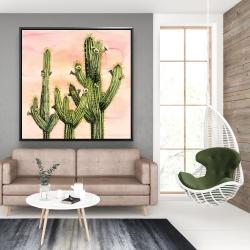 Encadré 48 x 48 - Cactus weberocereus
