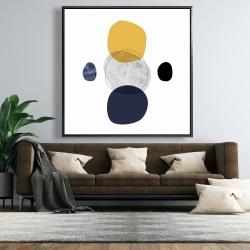 Framed 48 x 48 - Spheres