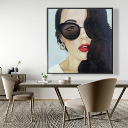 Framed 48 x 48 - Fashionable sunglasses