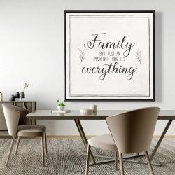 Framed 48 x 48 - Family