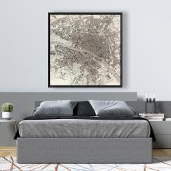 Framed 48 x 48 - Paris