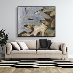 Framed 48 x 60 - Autumn leaves