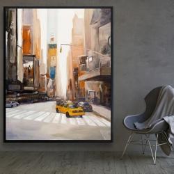 Framed 48 x 60 - New-york city center