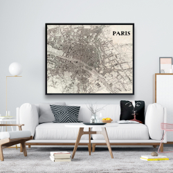 Framed 48 x 60 - Paris 1