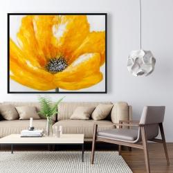 Framed 48 x 60 - Beautiful yellow flower