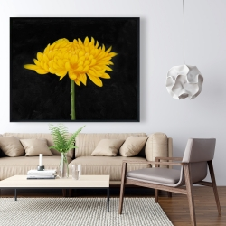 Framed 48 x 60 - Chrysanthemum