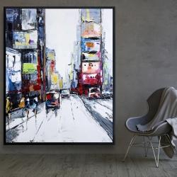 Framed 48 x 60 - Time square