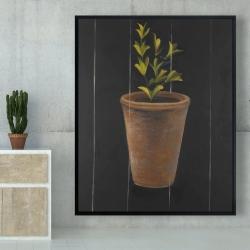 Framed 48 x 60 - Plant of marjolaine