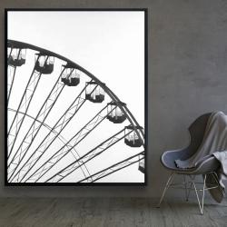 Framed 48 x 60 - Quarter of a ferris wheel
