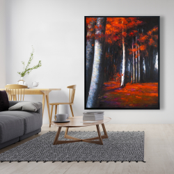 Framed 48 x 60 - Mysterious forest