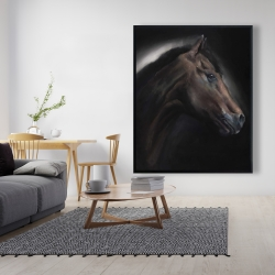 Framed 48 x 60 - Loneliness horse