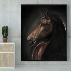 Framed 48 x 60 - Spirit the horse