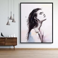 Framed 48 x 60 - Bare skin