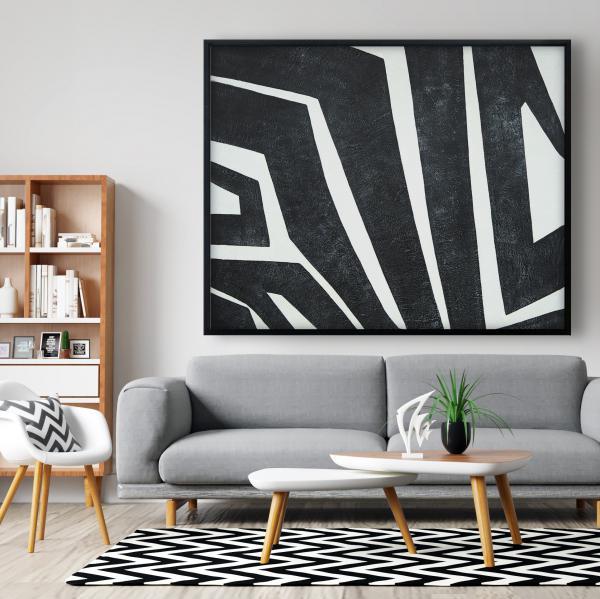 Framed 48 x 60 - Labyrinth