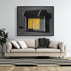 Framed 48 x 60 - Fresh pasta machine