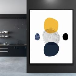 Framed 48 x 60 - Spheres