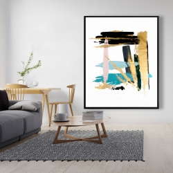 Framed 48 x 60 - Pastel stroke