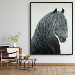 Framed 48 x 60 - Wild heart