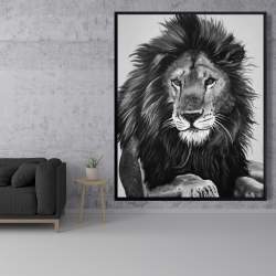 Framed 48 x 60 - The lion king