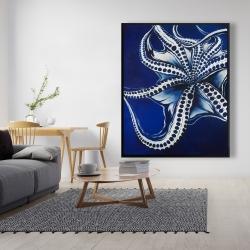 Framed 48 x 60 - Dancing octopus