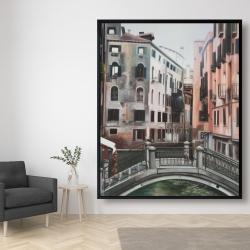 Framed 48 x 60 - Venice