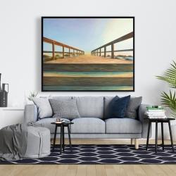 Framed 48 x 60 - Footbridge