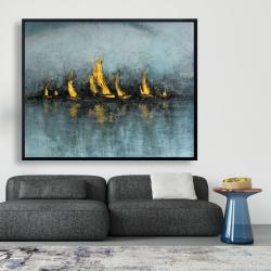 Framed 48 x 60 - Set sail