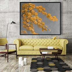 Framed 48 x 60 - Golden wattle plant